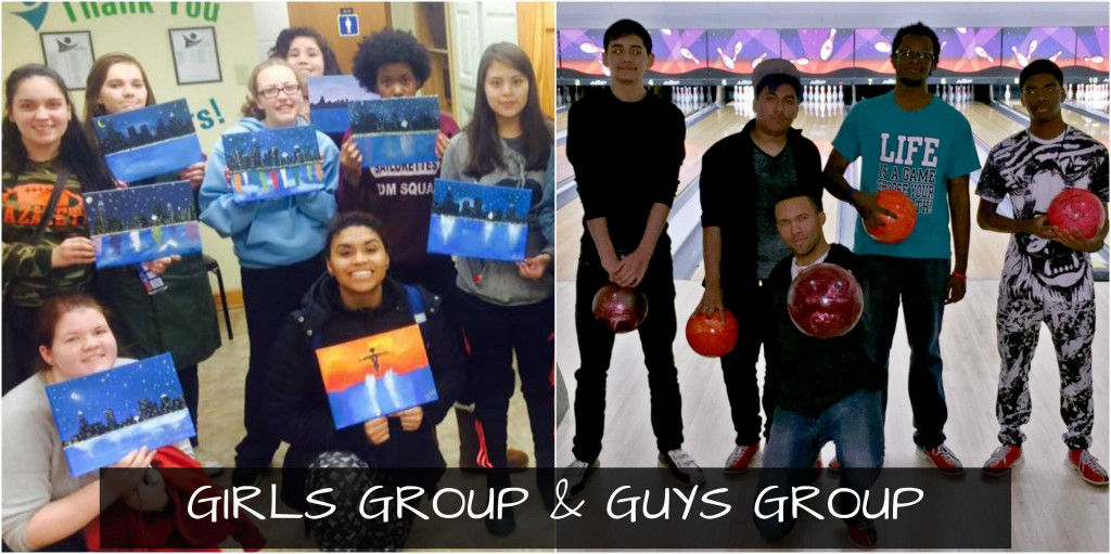 GIRLS AND GUYS GROUP COLLAGE