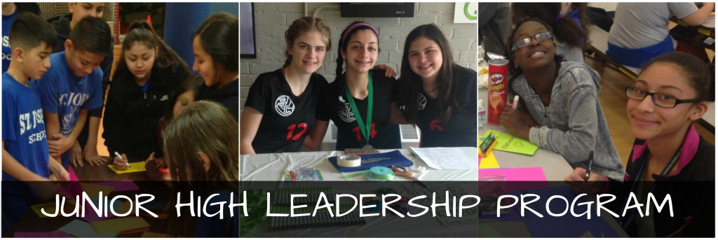 JUNIOR HIGH LEADERSHIP PROGRAM